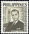 Manuel L. Quezon 1960 stamp of the Philippines.jpg