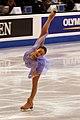 Mao Asada 2009 World Championships Spiral.jpg
