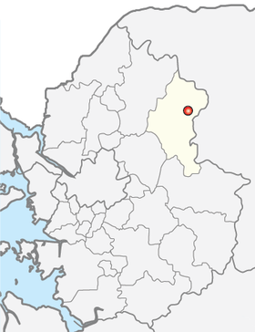 Location of Gapyeong