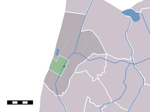 Sint Maartensvlotbrug - Image: Map NL Zijpe Sint Maartensvlotbrug