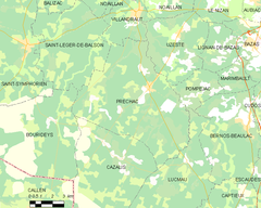 Map commune FR insee code 33336.png