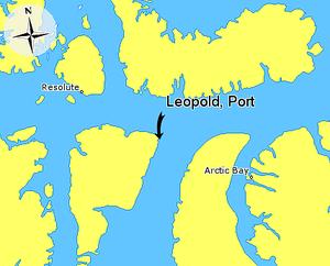 Port Leopold - Port Leopold, Somerset Island, Nunavut, Canada.