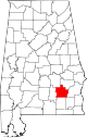 Map of Alabama highlighting Pike County.svg