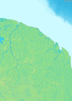 Map of French Guiana Demis.png