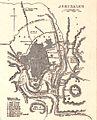 Map of Jerusalem. Johnson's Palestine. 1862.jpg