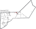 Map of Lucas County Ohio Highlighting Washington Township.png
