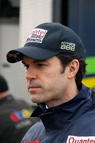 Marc Hynes - Hynes at the Donington round of the 2014 British Touring Car Championship season.