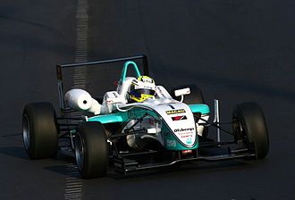 Marcus Ericsson - Ericsson driving for TOM'S at the 2009 Macau Grand Prix, where he finished fourth.