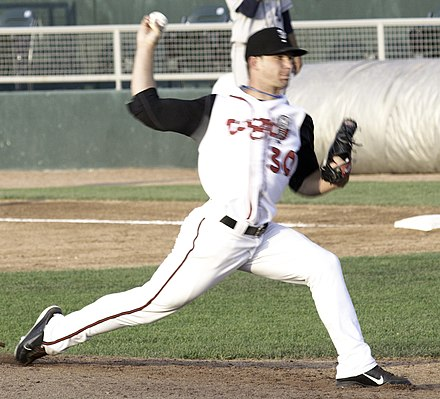 Marcus Walden with the Class A Lansing Lugnuts in 2011 Marcus Walden (cropped).jpg