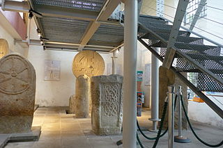 Margam Stones Museum Museum of early Christian carved stones in Port Talbot, South Wales