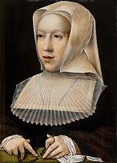 Portrait de Marguerite d'Autriche (1480-1530)