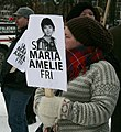Maria Amelie protest, Royal Palace Oslo - 3.jpg