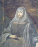 Maria Francisca de Saboia, Convento Francesinhas (close up).PNG