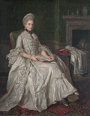 Portrait of Maria Walpole