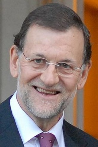 2011 Spanish general election - Image: Mariano Rajoy 2012b (cropped)