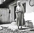 Marija Pretnar, 82 let stara, Trenta 56, pri Turarju 1952.jpg