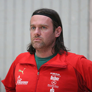 Mario Kelentrić Croatian handball player