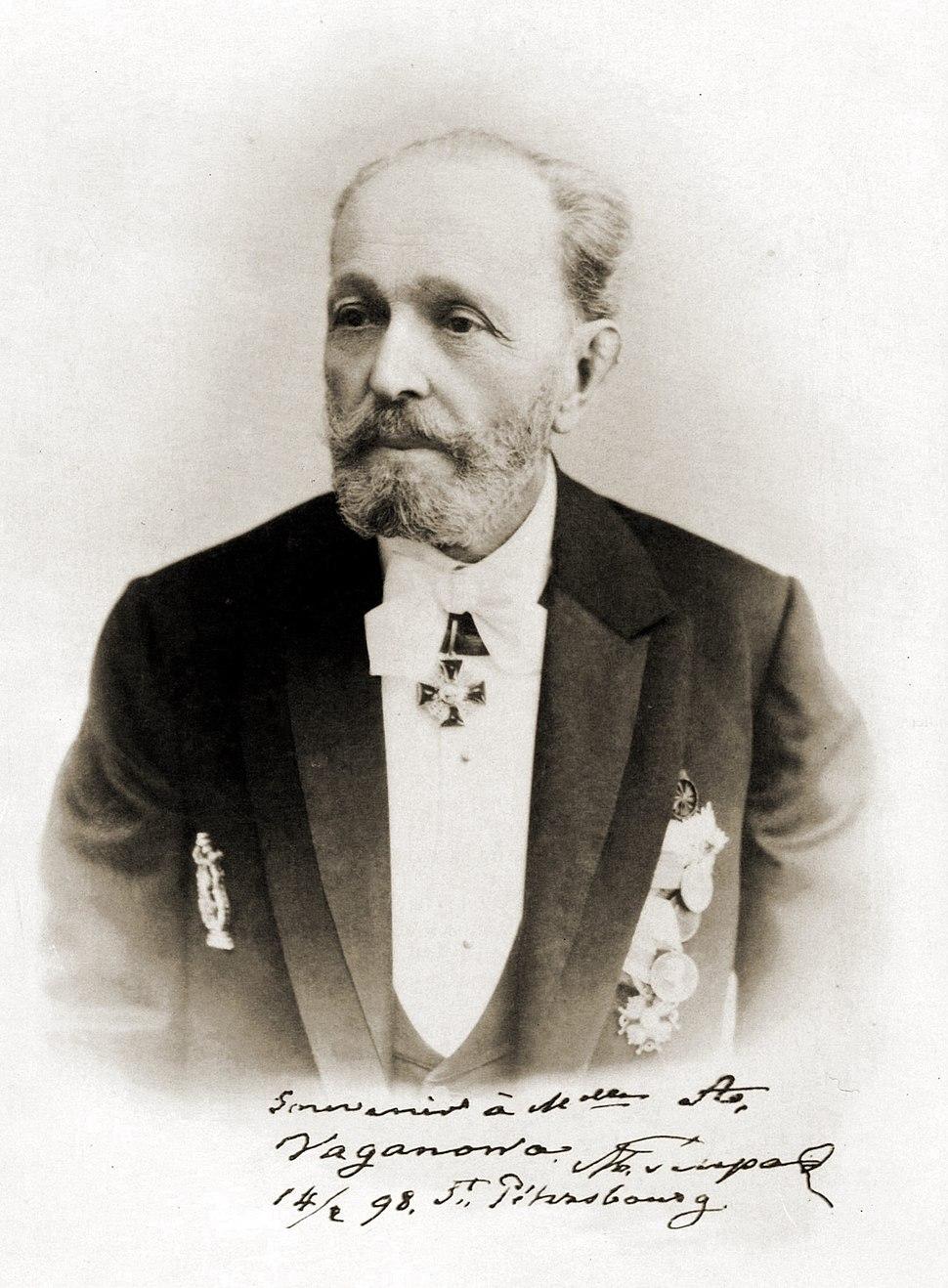 Marius Ivanovich Petipa -Feb. 14 1898