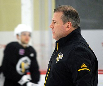 Mark Recchi - Assistant coach for the Penguins in 2018