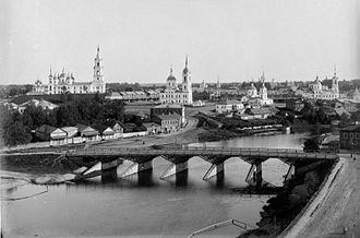 Kashin (town) - Kashin in 1894