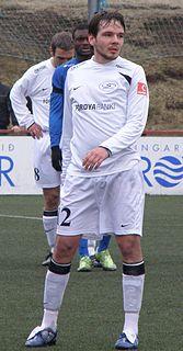 Marni Djurhuus Faroese footballer
