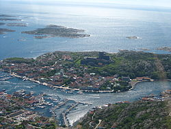 Marstrand from above