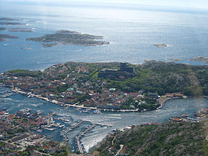 Marstrand - Aerial view of Marstrand