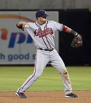 Martín Prado - Prado playing for the Atlanta Braves in 2009