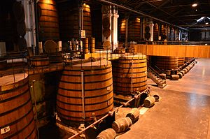 Martell (cognac) - House and distillery of Martell