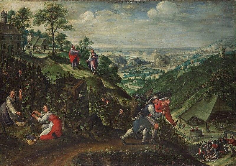 File:Marten van Valckenborch - Parable of the wicked husbandmen (October).jpg