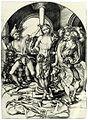 Martin Schongauer - Die Geißelung Christi (L 22).jpg