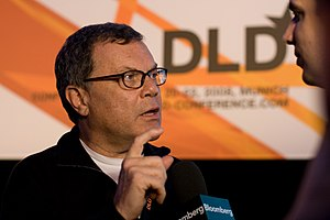 300px Martin Sorrell DLD 08 Omnicom, Publicis Groupe Merge To Create Advertising Giant