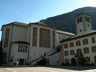 Visp - St. Martin's church