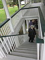 Mary Plantation House Upstairs Gallery Stairs Down.JPG
