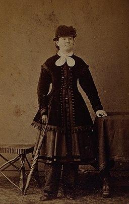 Mary Walker. Photograph by Elliott & Fry. Wellcome V0027302