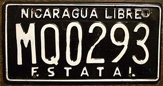 Vehicle registration plates of Nicaragua Nicaragua vehicle license plates