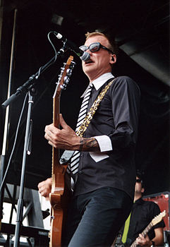 Matt Skiba al Warped Tour di Indianapolis, nel 2004.