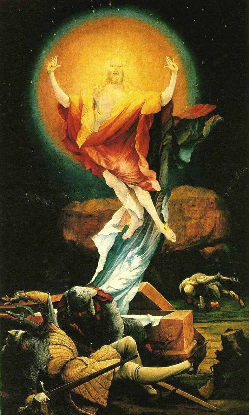 Matthias Grünewald Isenheimer Altar Auferstehung