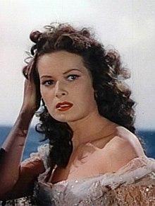 O'Hara en La nigra cigno (1942)