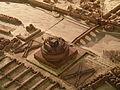 Mausolée d'Hadrien et pont Aelius, plan de Rome de Paul Bigot, Caen MRSH.JPG