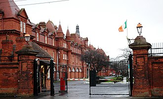 Directorate of Military Intelligence (Ireland) - McKee Barracks in Dublin is the reported headquarters of the Directorate of Military Intelligence