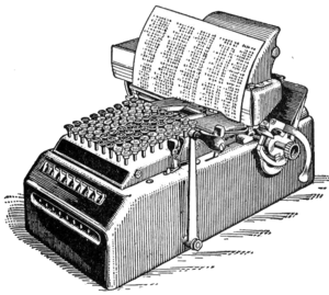 Mechanical calculator from 1914