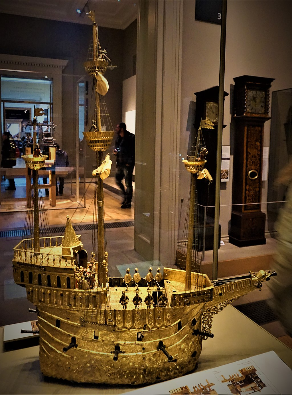 Mechanical Galleon - British Museum - Joy of Museums