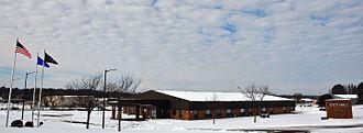 Medford, Wisconsin - City hall in Medford, Wisconsin in November 2013