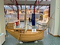 Mediterranean cargo ship reconstruction in the Museum of Ancient Seafaring in Mainz, Germany (48988477147).jpg