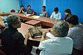 Meeting with Wikipedians and JU Officers - Bengali Wikipedia 10th Anniversary Celebration - Jadavpur University - Kolkata 2014-11-21 0700.JPG