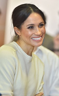 Meghan Markle visits Northern Ireland - 2018 (41014635181).jpg