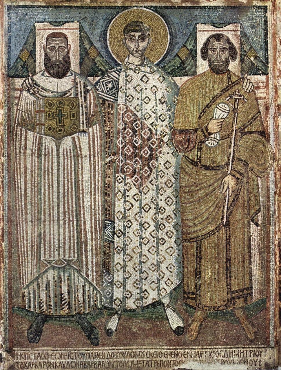 Meister der Demetrius-Kirche in Saloniki 002
