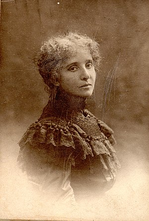 Mélanie Bonis - Mel Bonis at about age 50, photo ca. 1908.
