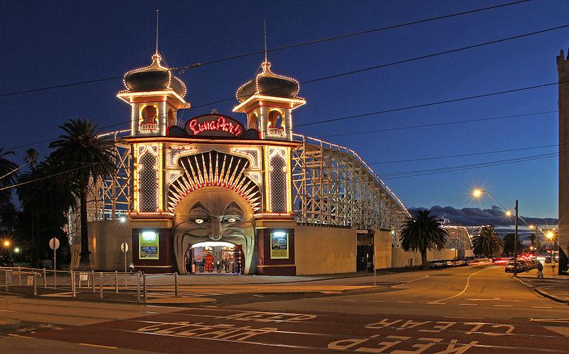 File:Melbourne Luna Park at Dusk edit.jpg